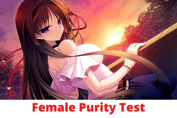 Women's Purity test to see your score